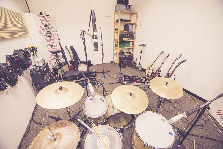 Drum booth / recording room